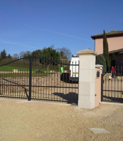 fabrication portail Bourg-en-Bresse